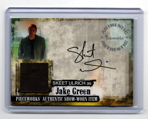 Skeet Uulrich Autograph and Screen Used Material