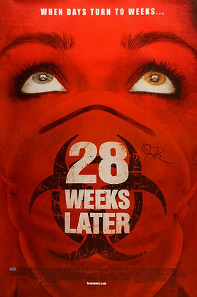 Jeremy Renner  28 Weeks Later 27x40 poster | Celebrity Authentics