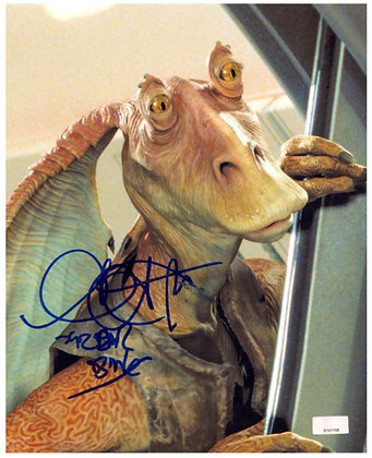 Ahmed Best -Jar Jar Binks | Celebrity Authentics Authenticated