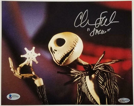 Chris Sarandon Jack Skellington - Nightmare B4 Christmas | Beckett Authenticated
