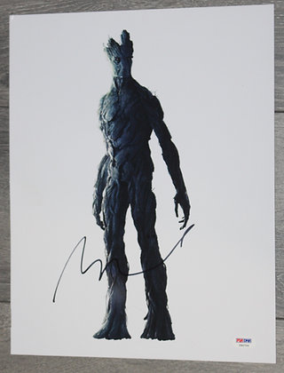 Vin Diesel - Groot   PSA/DNA Authenticated