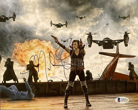 Milla Jovovich Resident Evil | Beckett Authenticated