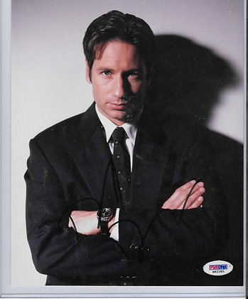 David Duchovny - X Files | PSA/DNA Authenticated