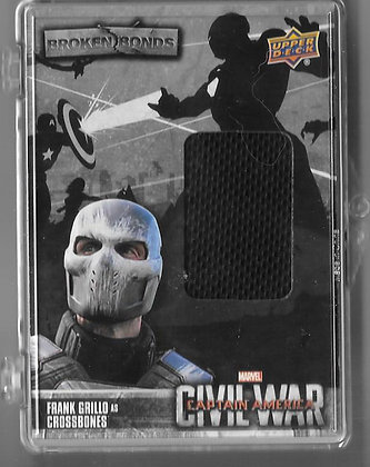 Crossbones Captain America Civil War Wardrobe Card