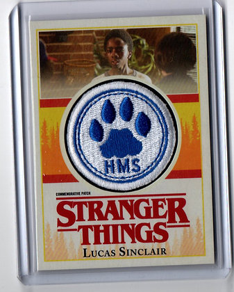 Stranger Things - Lucas Sinclair School Patch