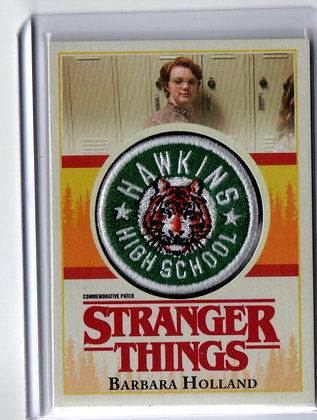 Stranger Things - Barbara Holland High School Patch
