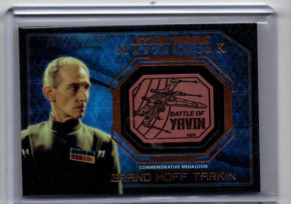 Grand Moff Tarkin Medal Star Wars Master Work