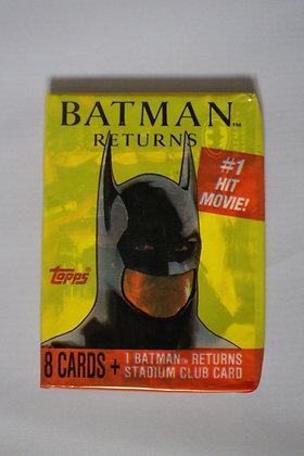 Batman Returns 1991 Topps Trading Card Pack