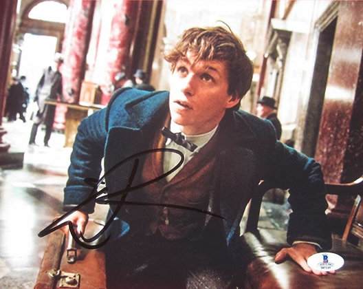 Eddie Redmayne - Newt | Beckett Authenticated