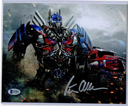 Peter Cullen - Optimus Prime- Transformers | Beckett Authenticated