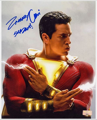 Zachary Levi - Shazam! | Celebrity Authentics Authenticated