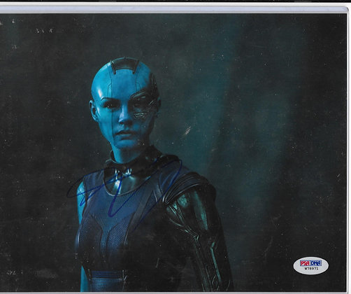 Karen Gillan - Nebula | PSA/DNA Authenticated