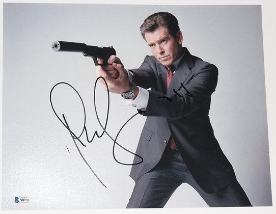 Pierce Brosnan - James Bond 007 | Beckett Authenticated