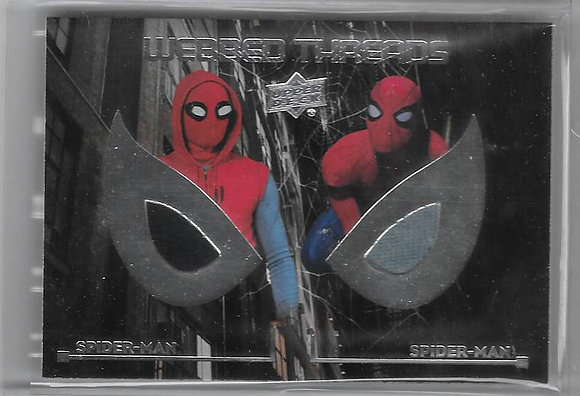 Spiderman Homecoming Wardrobe Card