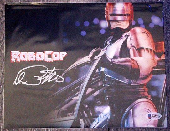 Peter Weller RoboCop   Beckett Authenticated