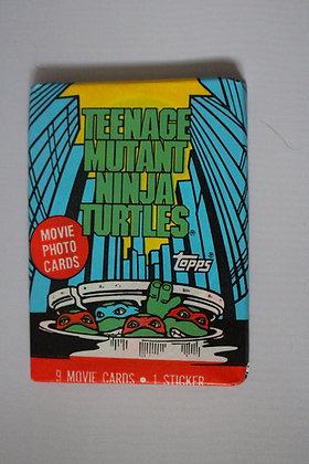 Teenage Mutant Ninja Turtles Movie 1990 Trading Card Pack