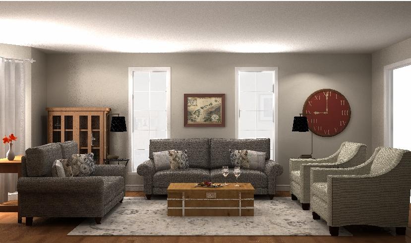 Living Room Design - pic 1 Oct 4