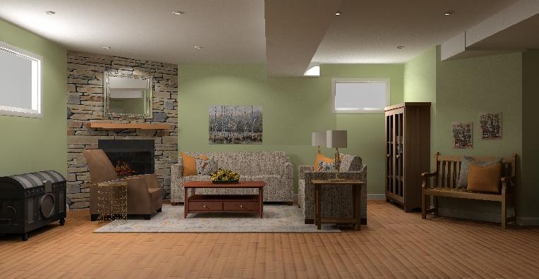 Basement Design pic 2 - Aug 07