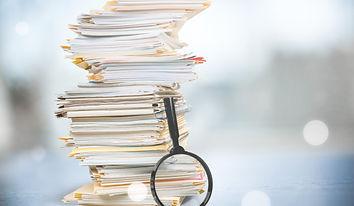 Unterlagen und Dokumente zum Immobilienverkauf, Flurplan, Energieausweis, Exposé, Nebenkostenabrechnung