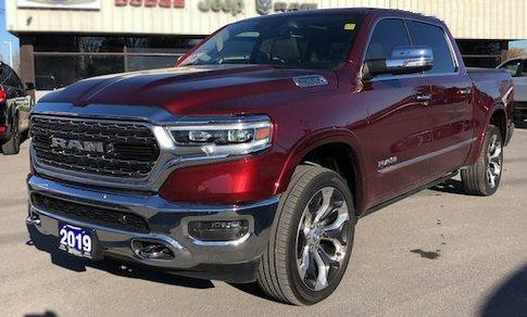Dodge Ram 2019 Red