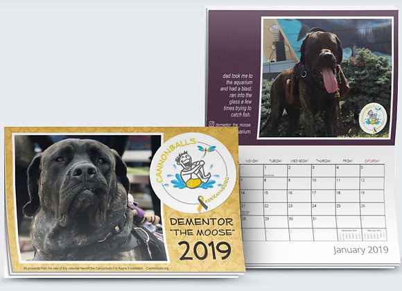 "Dementor ""The Moose"" 2019 Calendar"