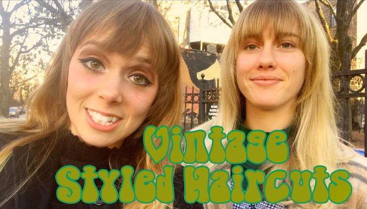 Vintage Styled Haircuts with Devyn Crimson