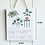"""Thumbnail: """"Home is where your plants live""""Wall hanging plaque"""