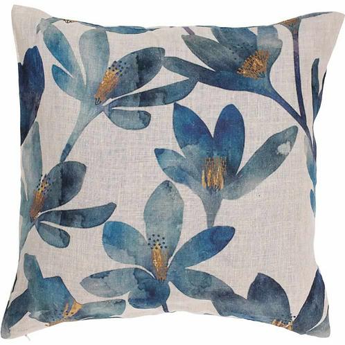 Eadie Tulip Linen Cushion
