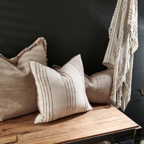Eadie Rockpool Linen Cushion