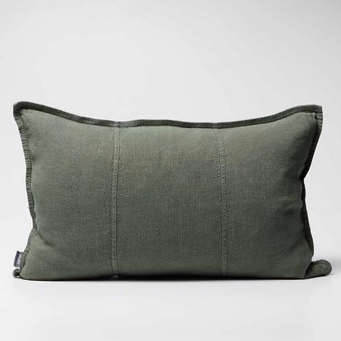 Eadie Luca Linen Cushion -Khaki