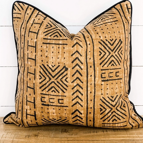 Mali Mudcloth Outdoor Cushion