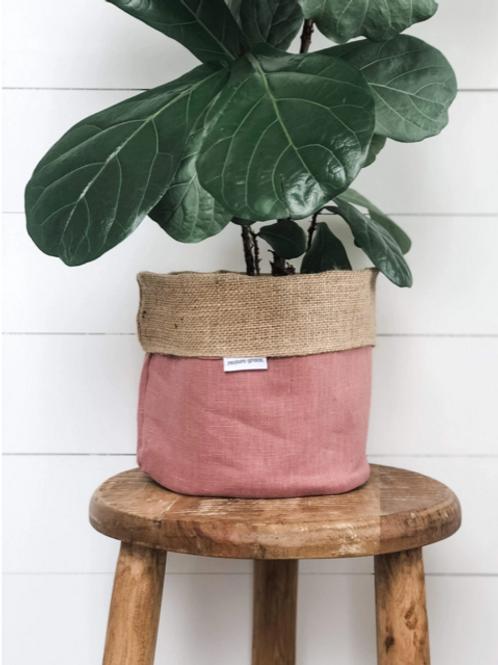Blush Pink Pot Plant Cover