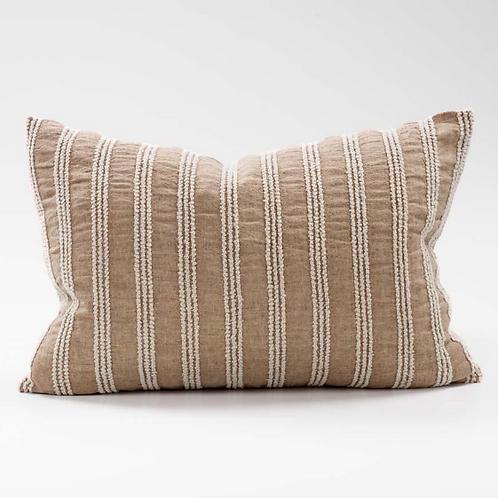 Eadie Low Tide Linen Cushion - Antique Rose