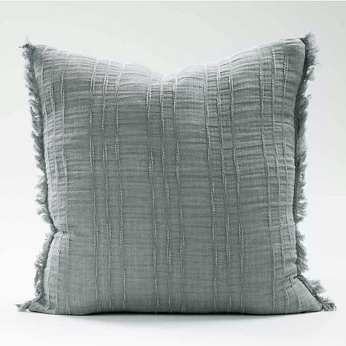 Eadie Soft Steel Linen Cushion