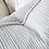 Thumbnail: Eadie Sea Foam Linen Cushion - Soft Blue White