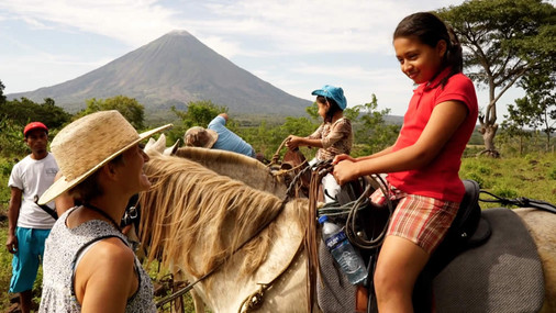 EQUINE-ASSISTED THERAPY FOR LOCAL CHILDREN