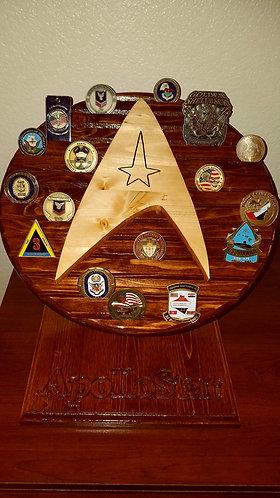 Star Trek Challenge Coin Holder