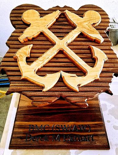 Boatswain Challenge Coin Holder