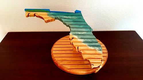 Florida Challenge Coin Holder