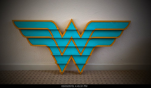 Wonder Woman Challenge Coin Display