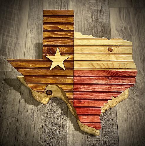 Texas Challenge Coin Display
