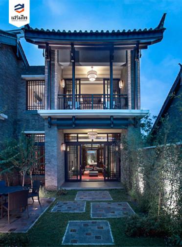 บ้านโมเดิร์นจีน