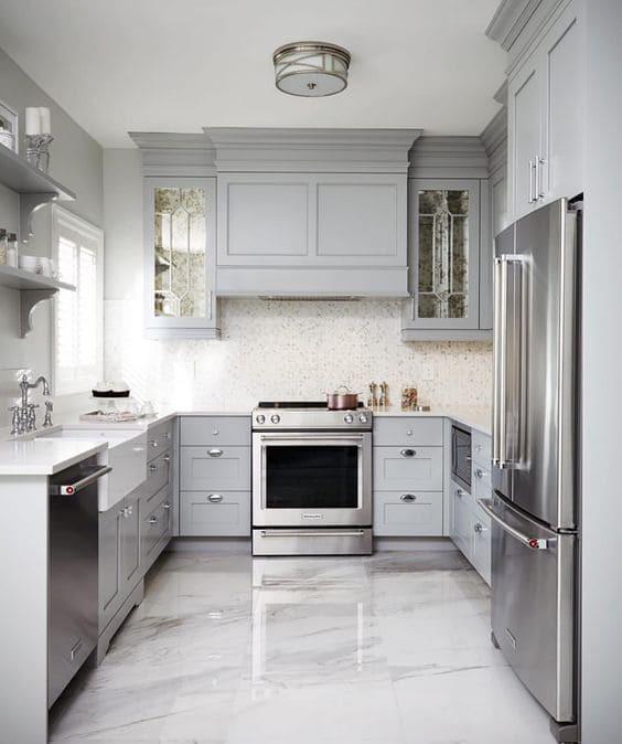 5 พื้นที่เลือกวัสดุปูพื้นอย่างไรให้เหมาะกับการใช้งาน - ห้องครัว