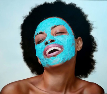 LADY IN THE FACE MASK