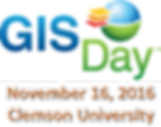 GIS Day Logo Clemson University