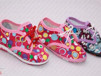 Новинка - летние текстильные туфли (туфельки)