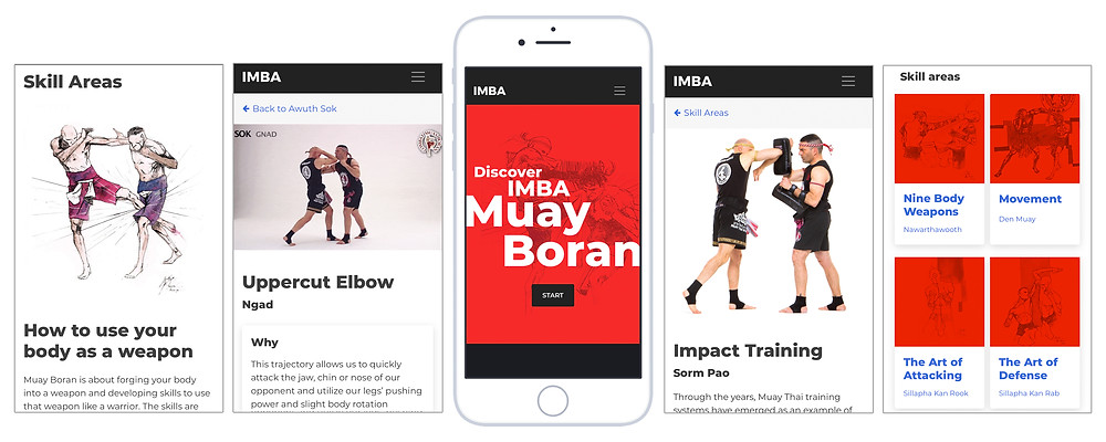 IMBA Muay Boran Discover IMBA MUay Boran web application, martial arts app