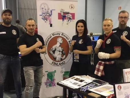 Kova työ palkittiin Nordic FightExpolla