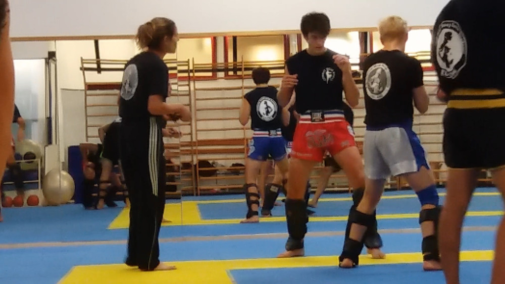 Kuva treeneistä