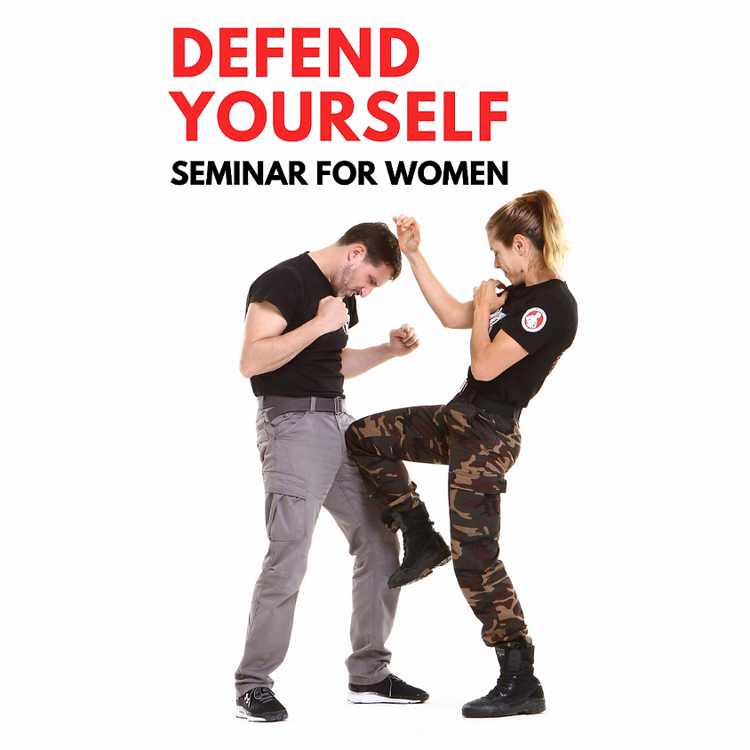 Defend Yourself - Seminar for Women 2020
